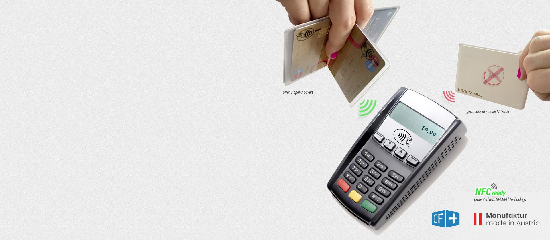 Kartenschutztasche CF+